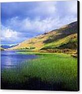 Kylemore Lake, Co Galway, Ireland Lake Canvas Print by The Irish Image Collection