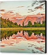Matheson Lake Canvas Print by MotHaiBaPhoto Prints