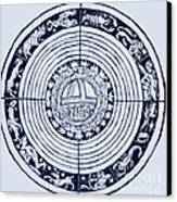 Medieval Zodiac Canvas Print by Science Source