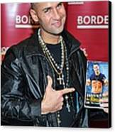Mike The Situation Sorrentino Canvas Print by Everett