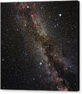 Milky Way Canvas Print by Eckhard Slawik