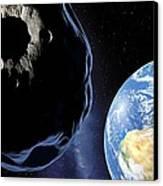 Near-earth Asteroid, Artwork Canvas Print