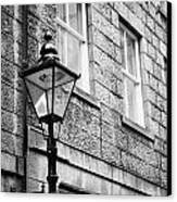 Old Sugg Gas Street Lights Converted To Run On Electric Lighting Aberdeen Scotland Uk Canvas Print
