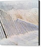 On Sheepshead Bay Canvas Print by Don F  Bradford