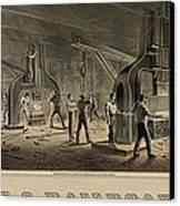 Paterson Iron Company Canvas Print by Everett