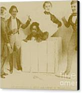 Resurrection Of Henry Box Brown Canvas Print by Photo Researchers