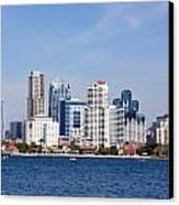 San Diego Skyline Canvas Print by Jeff Lowe