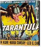Tarantula, John Agar, Mara Corday, 1955 Canvas Print by Everett