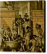 The Art Of Brewing, Babylon Canvas Print by Science Source