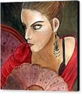 The Flamenco Dancer Canvas Print
