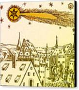 The Great Comet Of 1556 Canvas Print