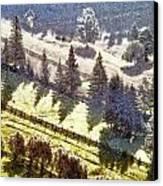 Transylvania Landscape Canvas Print by Odon Czintos