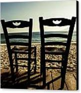 Two Chairs Canvas Print
