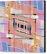 Urban Abstract San Diego Canvas Print by Carol Leigh