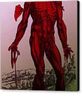 Vesalius De Humani Corporis Fabrica Canvas Print by Science Source