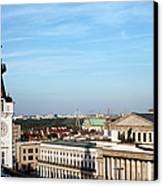Warsaw Cityscape Canvas Print
