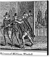 William Tyndale Canvas Print