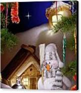 Wonderful Christmas Still Life Canvas Print