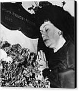 Rudolph Valentino Canvas Print