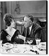 Film Still: Eating & Drinking Canvas Print by Granger