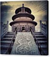 Instagram Photo Canvas Print by Tommy Tjahjono