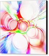 Abstract Of Circle  Canvas Print by Setsiri Silapasuwanchai