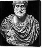 Aristotle (384-322 B.c.) Canvas Print by Granger