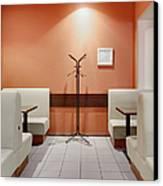 Cafe Dining Room Canvas Print by Magomed Magomedagaev