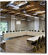 Conference Room Canvas Print by Jaak Nilson
