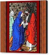 Drumul Crucii - Stations Of The Cross  Canvas Print by Buclea Cristian Petru