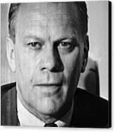 Gerald R. Ford (1913-2006) Canvas Print by Granger