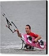 Kite Boarding Canvas Print