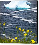 Melting Iceberg Canvas Print