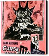 Night Of The Demon, Aka Curse Of The Canvas Print
