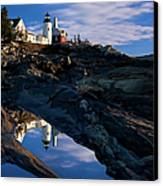 Pemaquid Point Lighthouse Canvas Print by Brian Jannsen