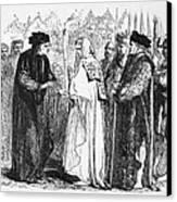 Shakespeare: Henry Vi Canvas Print by Granger