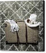 Suitcase Canvas Print
