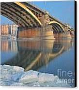 The Bridge Canvas Print by Odon Czintos