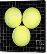 Time For Tennis Canvas Print by John Van Decker