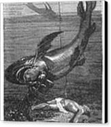 Verne: 20,000 Leagues Canvas Print by Granger