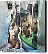 #31 Verticalnudecomp 2003 Canvas Print by Glenn Bautista