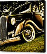 37 Ford Pickup Canvas Print by Phil 'motography' Clark