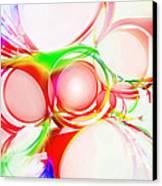 Abstract Of Circle  Canvas Print