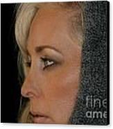 Blond Woman Canvas Print by Henrik Lehnerer