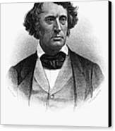 Charles Sumner (1811-1874) Canvas Print by Granger
