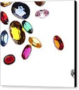 Colorful Gems Canvas Print