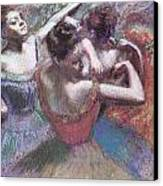 Dancers Canvas Print by Edgar Degas