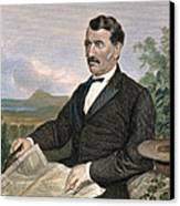 David Livingstone Canvas Print