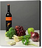 Foods Rich In Quercetin Canvas Print