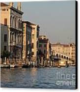 Grand Canal. Venice Canvas Print by Bernard Jaubert